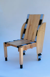 Adjustable Chair, 41x23x33 inches